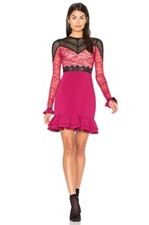 Three Floor Rosa Dress Fuchsia