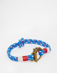 Polo Ralph Lauren Rope Bracelet Blue