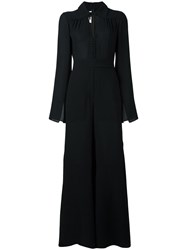 Mcq By Alexander Mcqueen Flared Jumpsuit Black