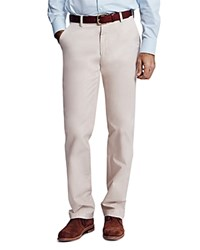 Thomas Pink Voltaire Straight Fit Chino Pants Beige