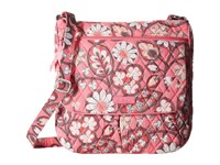 Vera Bradley Double Zip Mailbag Blush Pink Cross Body Handbags