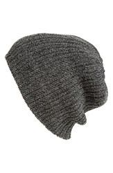 Men's The Rail Reversible Beanie Black Black Black Marle