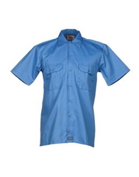 Dickies Denim Shirts Azure