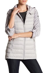 Bcbgeneration Missy Channel Quilted Jacket Metallic