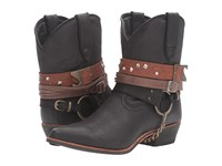 Durango Crush Accessory Bootie Black Boots