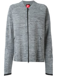 Nike Technical Knit Jacket Grey