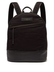 Want Les Essentiels Kastrup Organic Cotton Backpack Black