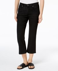 Eileen Fisher Cropped Flared Jeans Regular And Petite Vintage Black