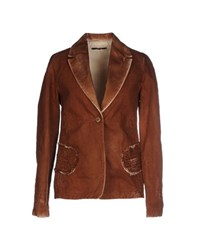 Jo No Fui Suits And Jackets Blazers Women Brown