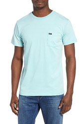 Rvca Men's Ptc Fade T Shirt Nile Blue