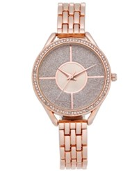 Charter Club Women's Bracelet Watch 33Mm Created For Macy's Rose Gold