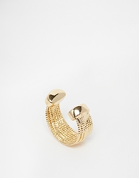 Designsix Multirow Ring Gold