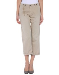 Monocrom 3 4 Length Shorts Beige