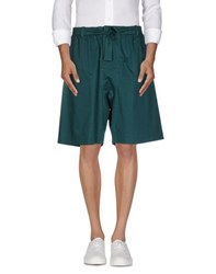 Marni Trousers Bermuda Shorts Men Green