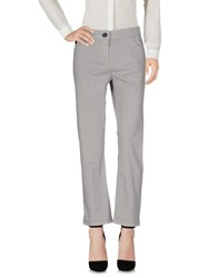 Liviana Conti Casual Pants Light Grey