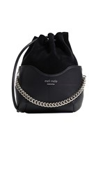 Meli Melo Hetty Bucket Bag Black