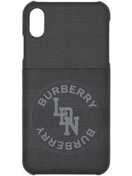 Burberry Logo London Check Iphone X Xs Case 60