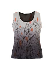 Chesca Reversible Printed Crush Pleat Camisole