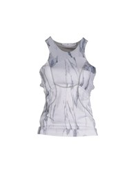 Adidas By Stella Mccartney Adidas By Stella Mccartney Topwear Vests Women Grey