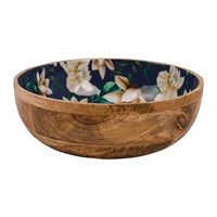Navigate Java Mango Wood Bowl Salad Bowl