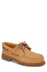 Timberland Lug Classic Boat Shoe Natural Leahter