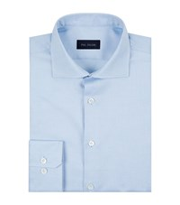 Pal Zileri Basketweave Shirt Male Light Blue