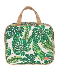 Stephanie Johnson Seychelles Green Martha Large Briefcase Cosmetics Bag