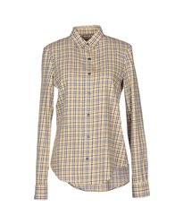 Manuel Ritz Shirts Yellow