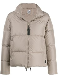 Bacon Padded Puffer Jacket Grey