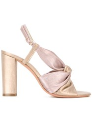 Jean Michel Cazabat Olbia Sandals Pink Purple