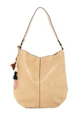 T Shirt And Jeans Willow Harbor Hobo Beige