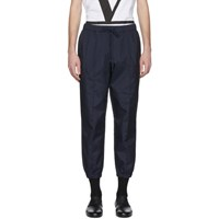 Barena Navy Scaleter Trousers