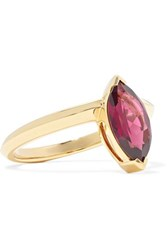 Stephen Webster Jitterbug 18 Karat Rhodolite Ring Gold