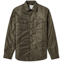 Aspesi Nylon Overshirt Green