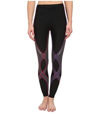 Cw X Insulator Stabilyx Tights Black Purple Gradient Women's Workout