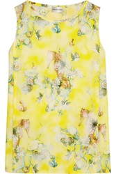 Philosophy Printed Cotton Top Yellow