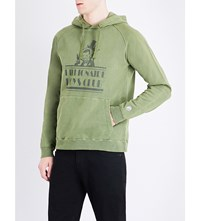 Billionaire Boys Club Space Beach Hotel Cotton Hoody Overdye Olive