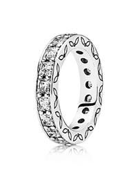 Pandora Design Pandora Ring Sterling Silver And Cubic Zirconia Clear Infinity