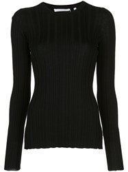 Helmut Lang Ribbed Long Sleeved Top 60