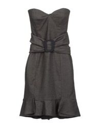 Scrupoli Short Dresses Grey