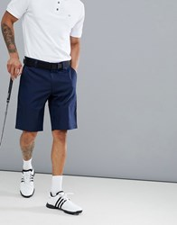 Calvin Klein Golf Tech Shorts With Logo In Navy Ckms14646