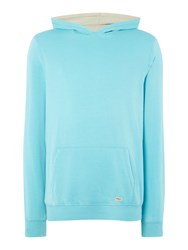 Blend Of America Plain Crew Neck Pull Over Jumpers Blue