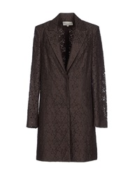Trou Aux Biches Full Length Jackets Dark Brown