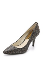 Michael Michael Kors Mk Flex Mid Pumps Cheetah Brown