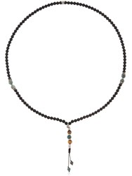 Cantini Mc Firenze Cromomalas Beaded Necklace Blue