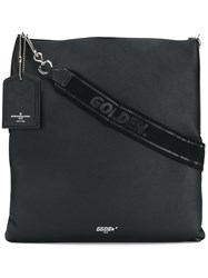 Golden Goose Deluxe Brand Squared Logo Shoulder Bag Black