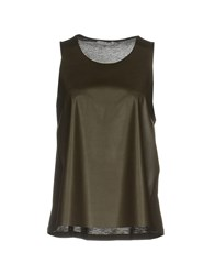 Hope Collection Tops Military Green
