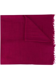 Ann Demeulemeester Frayed Cashmere Scarf 60
