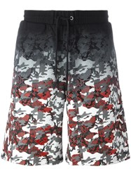 Marcelo Burlon County Of Milan Camouflage Print Track Shorts Black
