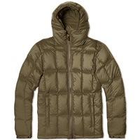 Aspesi Micro Fibre Down Filled Short Parka Olive